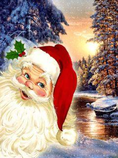 С Новым 2008 Годом. Дед Мороз
