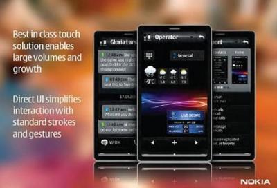 Фотографии 2-х новых тачфонов Nokia